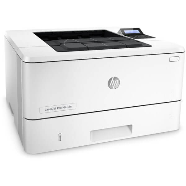 HP LaserJet M402N Network Laser Printer with Premium MICR Toner