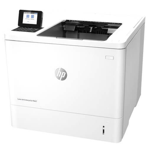 HP LaserJet M607N Laser Printer with Premium MICR Toner