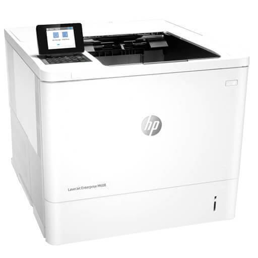 HP LaserJet M608N Laser Printer with Premium MICR Toner